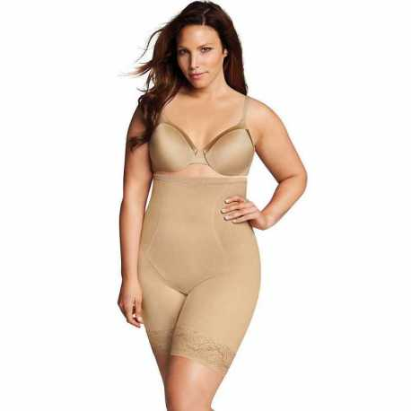 Maidenform DM1024 Firm Foundations Curvy Hi Waist Thigh Slimmer