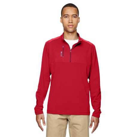 Adidas Golf A195 Men's puremotion Mixed Media Quarter-Zip