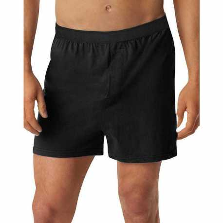 Hanes H255K Men's TAGLESS Knit Boxers with Comfort Flex Waistband 3X-5X 3-Pack