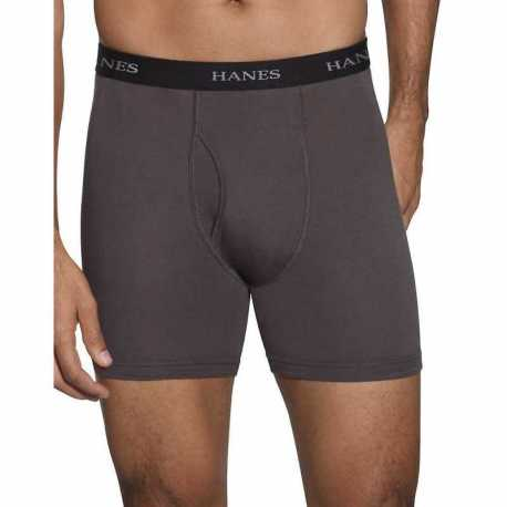 Hanes K312BXHU Ultimate FreshIQ Men's Assorted Boxer Briefs 2XL-4XL 4-Pack
