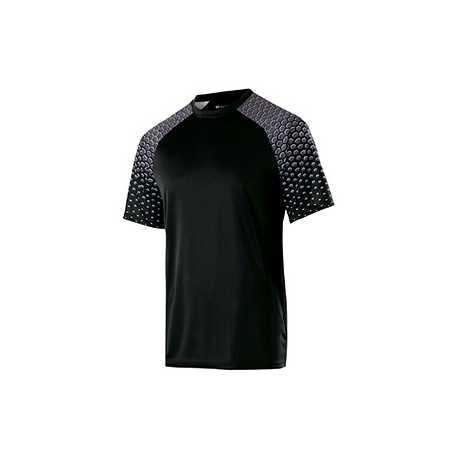 Holloway 228102 Adult Polyester Short Sleeve Voltage Shirt