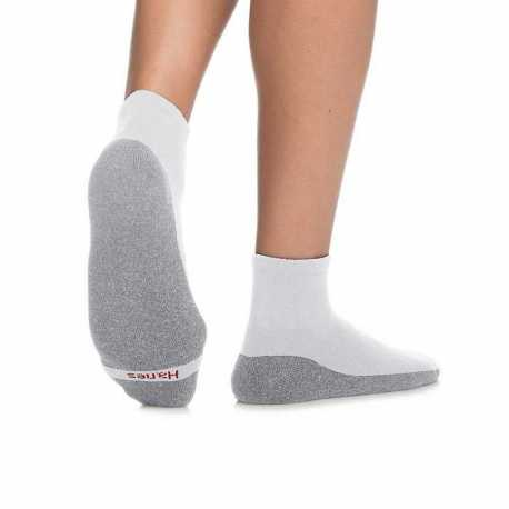 Hanes MC11/6 Men's ComfortBlend Max Cushion Ankle Sock 6-Pack
