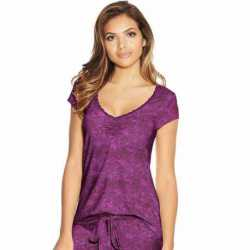 Maidenform MFW7100 Lace Trim Cap Sleeve Tee