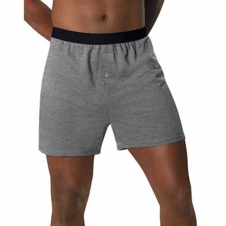 Hanes MKCBX5 Men's TAGLESS ComfortSoft Knit Boxers with ComfortSoft Waistband 5-Pack