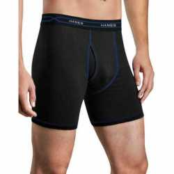 Hanes MWBBA3 Men's X-Temp Performance Cool Boxer Briefs 3-Pack