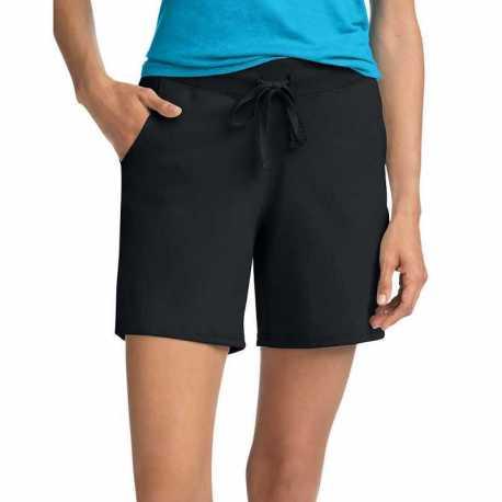 Hanes O9264 Women's Jersey Pocket Short