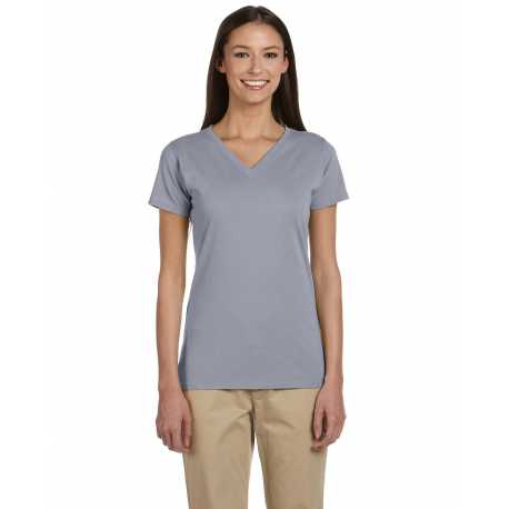 econscious EC3052 Ladies' 4.4 oz., 100% Organic Cotton Short-Sleeve V-Neck T-Shirt
