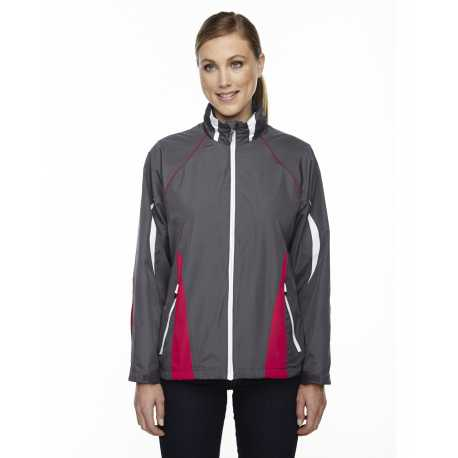 North End Sport Red 78644 Ladies' Impact Active Lite Colorblock Jacket