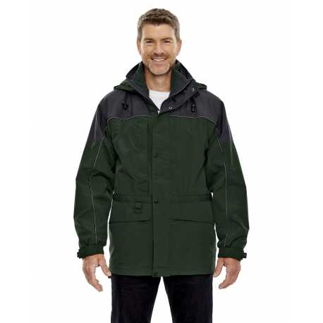 North End 88006 Adult 3-in-1 Two-Tone Parka