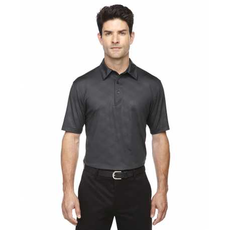 North End Sport Red 88659 Men's Maze Performance Stretch Embossed Print Polo