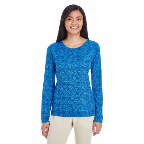 Holloway 229365 Ladies' Space Dye Long-Sleeve T-Shirt