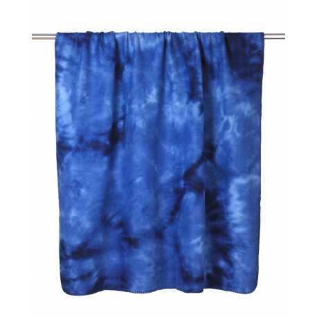 UltraClub 8483 Tie-Dye Fleece Blanket
