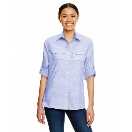 Burnside B5247 Ladies Texture Woven Shirt