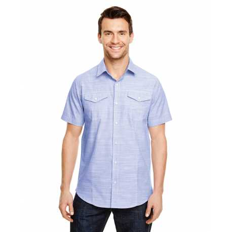 Burnside B9247 Men's Textured Woven Shirt