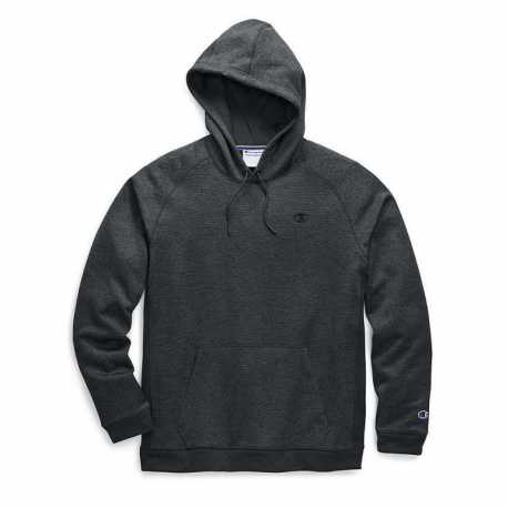 Champion S3154 549368 Men's Stadium Fleece Pullover Hood, C Logo