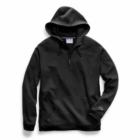 Champion S3155 549368 Men's Stadium Fleece Quarter Zip Hood
