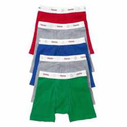 Hanes TB74P5 Toddler Boys' Boxer Briefs with Comfort Flex Waistband 5-Pack