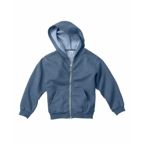 Comfort Colors C7755 Youth 10 oz. Garment-Dyed Full-Zip Hooded Sweatshirt