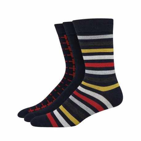 Hanes U81/3 Ultimate Men's FreshIQ Men's Assorted Dress Socks 3-Pack