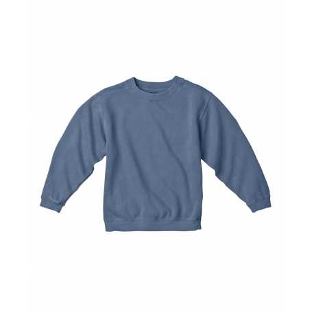 Comfort Colors C9755 Youth 10 oz. Garment-Dyed Crew Sweatshirt