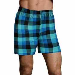 Hanes UTHXX3 Men's TAGLESS Ultimate Fashion Boxer with Comfort Flex Waistband Assorted Pattern Blues 3-Pack