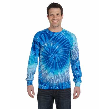 Tie-Dye CD2000 Adult 5.4 oz., 100% Cotton Long-Sleeve Tie-Dyed T-Shirt