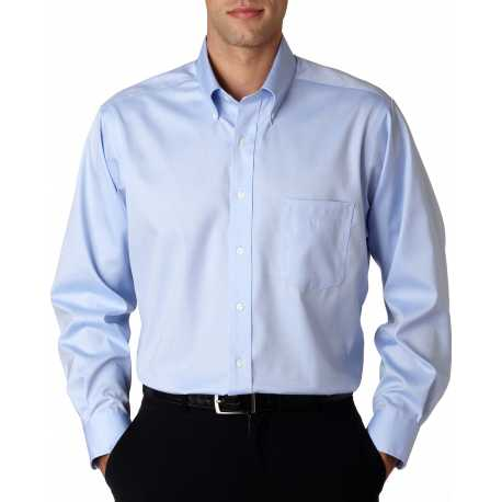 Van Heusen 13V0143 Men's Long-Sleeve Non-Iron Pinpoint