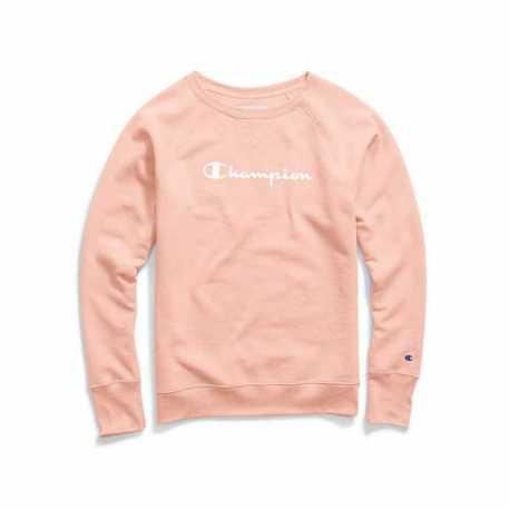 Champion W2956G Y07050 Women's Fleece Boyfriend Sweatshirt
