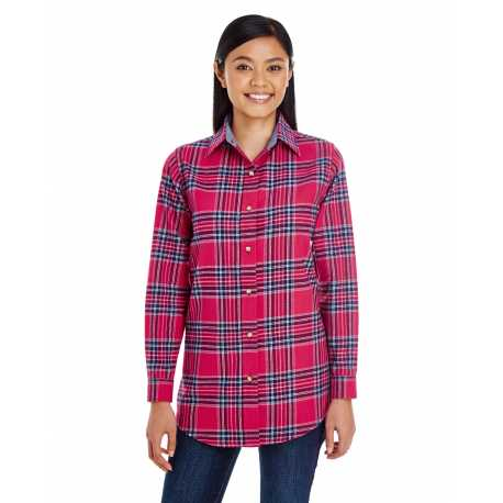 Backpacker BP7030 Ladies' Yarn-Dyed Flannel Shirt
