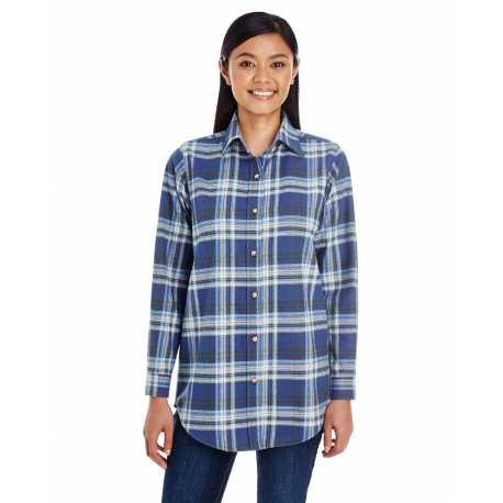 Backpacker BP7030 Ladies' Yarn-Dyed Flannel Shirt