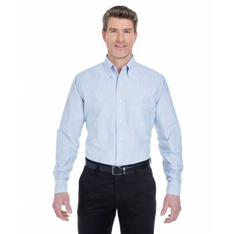 UltraClub 8970 Men's Classic Wrinkle-Resistant Long-Sleeve Oxford