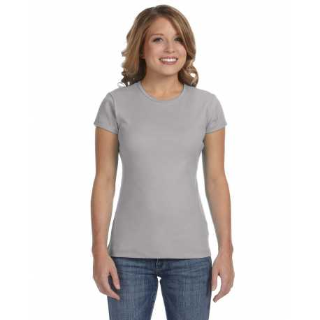 Bella + Canvas 1001 Ladies' Baby Rib Short-Sleeve T-Shirt