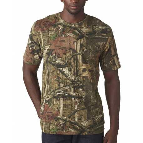 Code Five 3970 Adult MOSSY OAK Camouflage T-Shirt