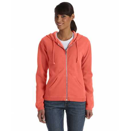 Comfort Colors C1598 Ladies' 9.5 oz. Full-Zip Hooded Sweatshirt