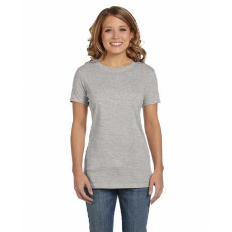 Bella + Canvas 6000 Ladies' Jersey Short-Sleeve T-Shirt