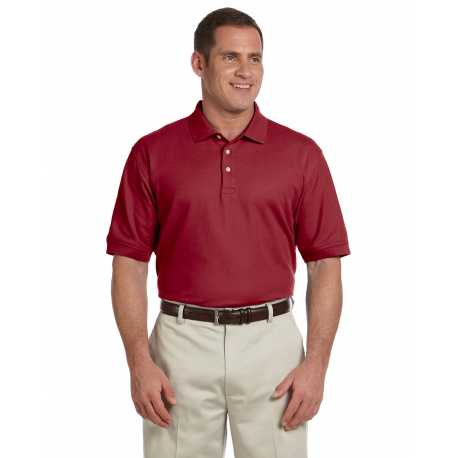 Devon & Jones D100 Men's Pima Pique Short-Sleeve Polo