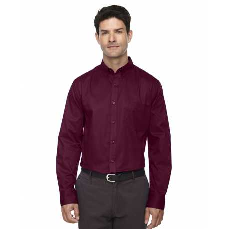 Core365 88193 Men's Operate Long-Sleeve Twill Shirt