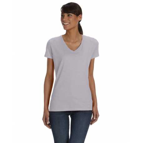 Fruit Of The Loom L39VR Ladies' 5 oz. HD Cotton V-Neck T-Shirt