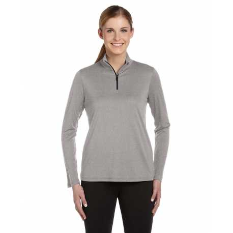 All Sport W3006 Ladies' Quarter-Zip Lightweight Pullover