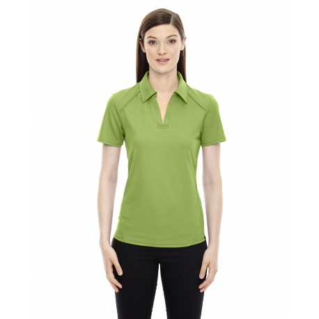 North End Sport Red 78632 Ladies' Recycled Polyester Performance Pique Polo