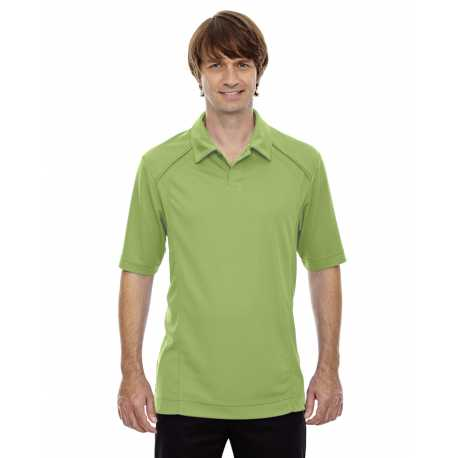 North End Sport Red 88632 Men's Recycled Polyester Performance Pique Polo