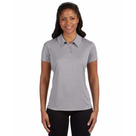 All Sport W1809 Ladies' Performance Three-Button Polo