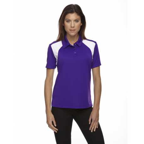 Extreme 75066 Ladies' Eperformance Colorblock Textured Polo