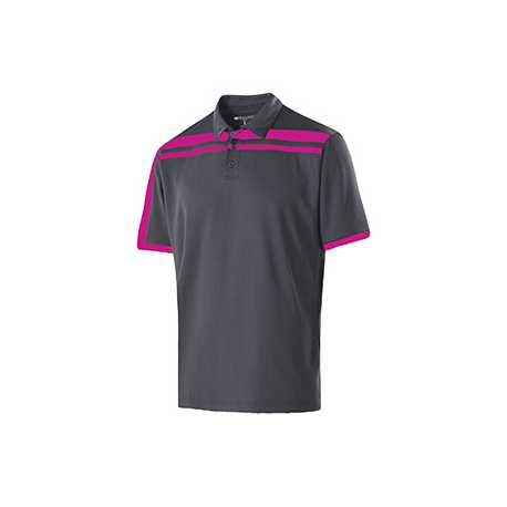 Holloway 222487 Adult Polyester Closed-Hole Charge Polo