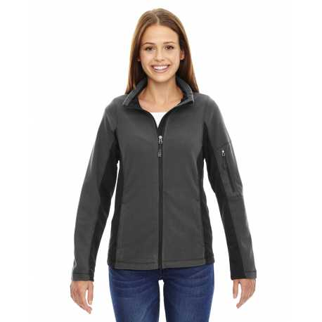 North End 78198 Ladies' Generate Textured Fleece Jacket