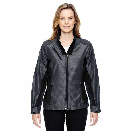 North End Sport Red 78807 Ladies' Aero Interactive Two-Tone Lightweight Jacket