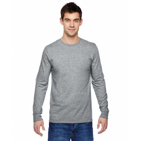 Fruit Of The Loom SFLR Adult 4.7 oz. Sofspun Jersey Long-Sleeve T-Shirt