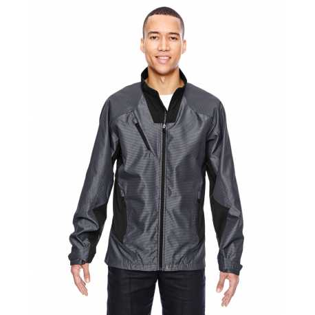 North End Sport Red 88807 Men's Aero Interactive Two-Tone Lightweight Jacket