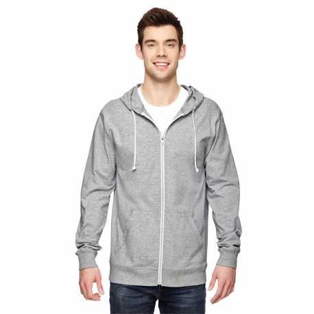 Fruit Of The Loom SF60R Adult 6 oz. Sofspun Jersey Full-Zip