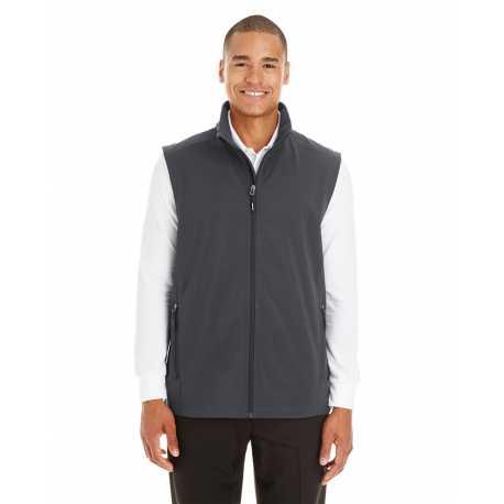 Core365 CE701 Men's Cruise Two-Layer Fleece Bonded Soft Shell Vest